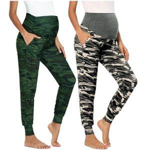 Maternity Leggings Camouflage Prints